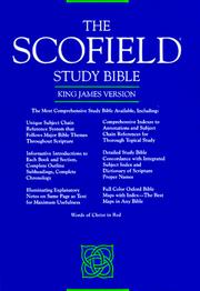 Cover of: Scofield Study Bible by Oxford University Press.