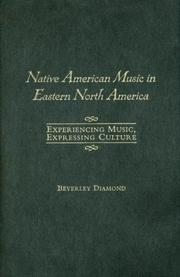 Cover of: Native American Music in Eastern North America | Beverley Diamond