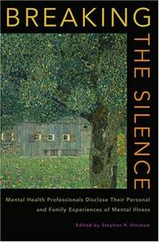 Cover of: Breaking the Silence by Stephen P. Hinshaw