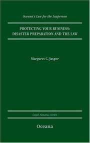 Cover of: Protecting Your Business | Margaret Jasper