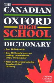 Cover of: The Canadian Oxford High School Dictionary | Katherine Barber