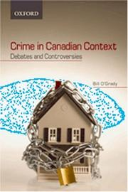 Cover of: Crime in Canadian Context | William O'Grady, William O'Grady