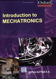 Cover of: Introduction to Mechatronics | K.K. Appukuttan