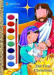 Cover of: The First Christmas (Paint Box Book) | Golden Books
