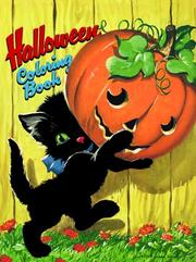 Cover of: Halloween Coloring Book (Novelty Coloring Book) by Golden Books