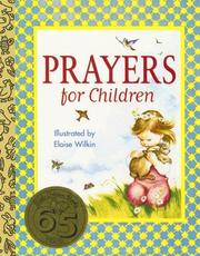 Cover of: Prayers for Children by Golden Books