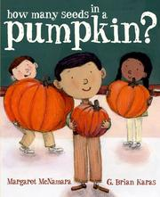 Cover of: How Many Seeds in a Pumpkin? by Margaret Mcnamara