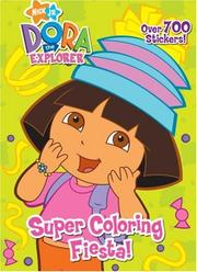 Cover of: Super Coloring Fiesta! | Golden Books