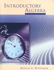 Cover of: Introduction to Algebra 99 Mathpass | Judith A. Beecher
