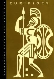 Cover of: Complete Greek Tragedies | David Grene