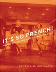 Cover of: It's So French! by Vanessa R. Schwartz