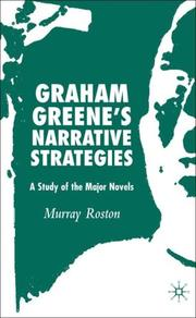 Cover of: Graham Greene's Narrative Strategies by Murray Roston