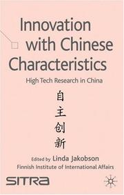 Cover of: Innovation with Chinese Characteristics | Linda Jakobson