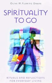 Cover of: Spirituality to Go | Olive M. Fleming Drane