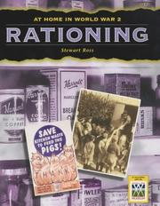Cover of: Rationing (At Home in World War II) | Ross, Stewart.