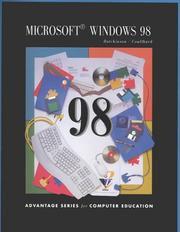 Cover of: Microsoft Windows 98 | Sarah Hutchinson-Clifford, Glen Coulthard