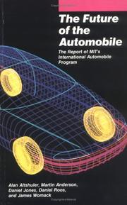 Cover of: The Future of the Automobile | Daniel Jones