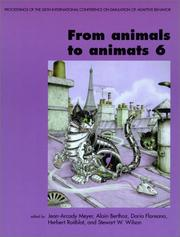 Cover of: From animals to animats 6 | International Conference on Simulation of Adaptive Behavior (6th 2000 Paris, France)