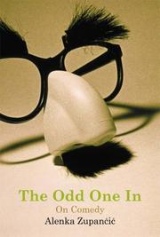 Cover of: The Odd One In | Alenka Zupancic