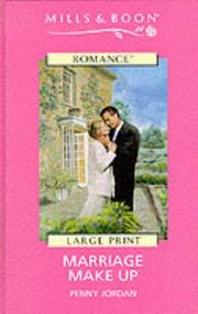 Cover of: Marriage Make Up by Penny Jordan