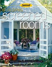 Cover of: Building Screened Rooms by Don Vandervort