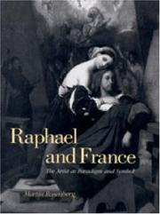 Cover of: Raphael and France by Martin Rosenberg