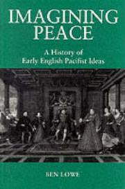 Cover of: Imagining peace | Ben Lowe