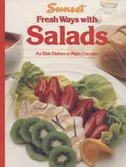 Cover of: Sunset Fresh Ways with Salads (As Side Dishes or Main Courses) | Elizabeth L. Hogan
