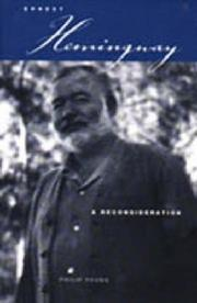 Cover of: Ernest Hemingway | Philip Young