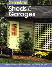 Cover of: Sheds & Garages by Southern Living Magazine