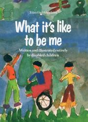 Cover of: What It's Like to Be Me | Helen Exley