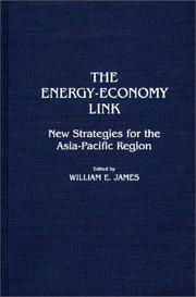 Cover of: The Energy-Economy Link by William E. James