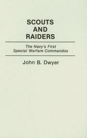 Cover of: Scouts and Raiders | John B. Dwyer