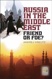 Cover of: Russia in the Middle East | Andrej Kreutz