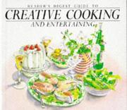 "Cover of: ""Reader's Digest"" Guide to Creative Cooking and Entertaining 