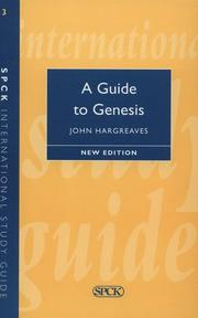 Cover of: A guide to Genesis | John Henry Monsarrat Hargreaves