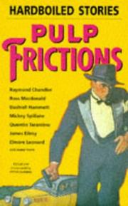 Cover of: Pulp Frictions | Peter Høeg