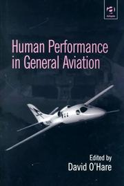 Cover of: Human Performance in General Aviation | David O'Hare