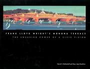 Cover of: Frank Lloyd Wright's Monona Terrace by David V. Mollenhoff