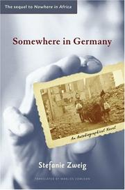 Cover of: Somewhere in Germany | Stefanie Zweig