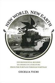 Cover of: New world, new earth | Cecelia Tichi