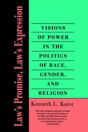 Cover of: Law's Promise, Law's Expression | Kenneth L. Karst