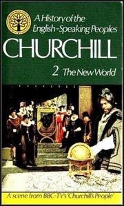 Cover of: The New World | Winston S. Churchill