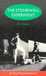 Cover of: The Stonewall experiment by Ian Young