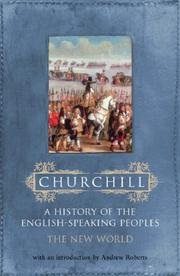 Cover of: A History of the English Speaking Peoples | Winston S. Churchill