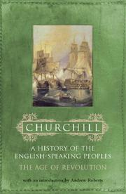 Cover of: History of the English Speaking Peoples (Hist Eng/Speaking Peoples 3) | Winston S. Churchill