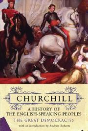 Cover of: History of the English Speaking Peoples (Churchill's History of the English-speaking Peoples) | Winston S. Churchill