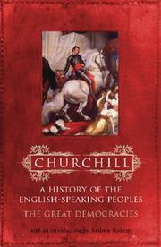 Cover of: The Great Democracies (History of the English Speaking Peoples) | Winston S. Churchill