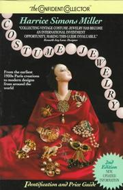 Cover of: Costume Jewelry Identification and Price Guide (Confident Collector) by Harrice Simons Miller