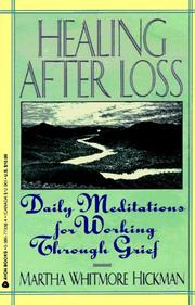 Cover of: Healing After Loss | Martha W. Hickman